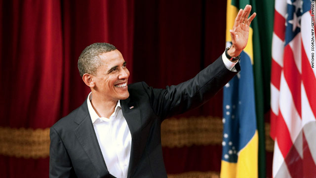 President Obama Supports Offshore Drilling In Brazil