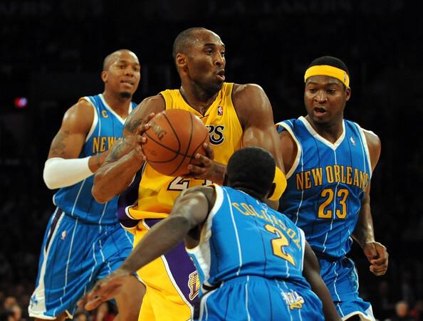The Hornets take the Staple Center – Game 1